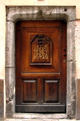 la porte du palindrome / the palindrome door