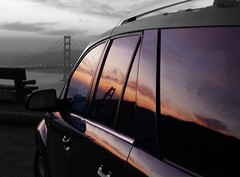sf bay sunrise reflection (on2wheelz) Tags: sf sanfrancisco bw colour reflection sunrise cutout marin gimp cutouts saturn coolest vue marinheadlands 2007 colorcutout ggnra jeffav jarcher on2wheelz jeffarcher raficutter2002 raficutter jeffav2007