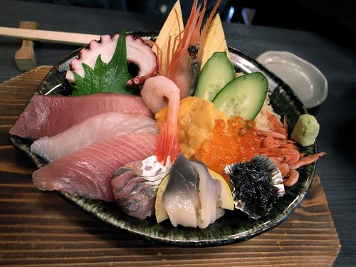 寿司の海女屋 海女っこちらし定食