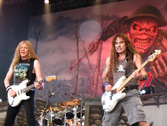 Iron Maiden at The Fields of Rock festival (Frenkieb) Tags: music rock metal concert iron live steve livemusic fields harris ironmaiden maiden gers steveharris fieldsofrock janickgers janick lastfm:event=73095