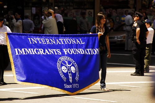 International Immigrants Foundation Parade in NYC 1