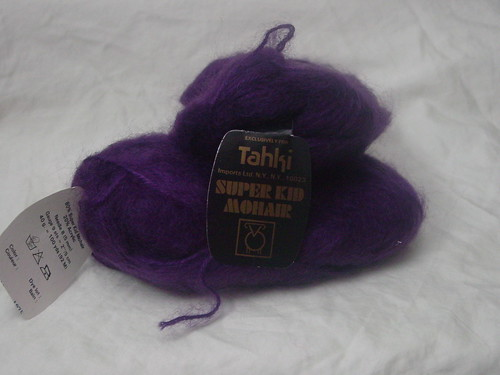 Purple Mohair