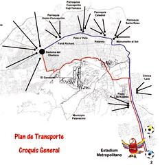 Plan deTransporte Copa América