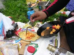 creps con camzana,melon, jugo de naranja ,caramelo y pisco (adin_campos) Tags: en catarata cocinando palacala