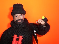 GI JOE I Turn My Camera On (8 Skeins of Danger) Tags: camera orange black hat beard gijoe sweater fuzzy knit yarn binoculars sculpey wrist custom scar holster adventurer kitbash fuzzhead adventureteam kungfugrip spyisland 8skeinsofdanger