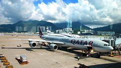 Qatar A340 - by code_martial