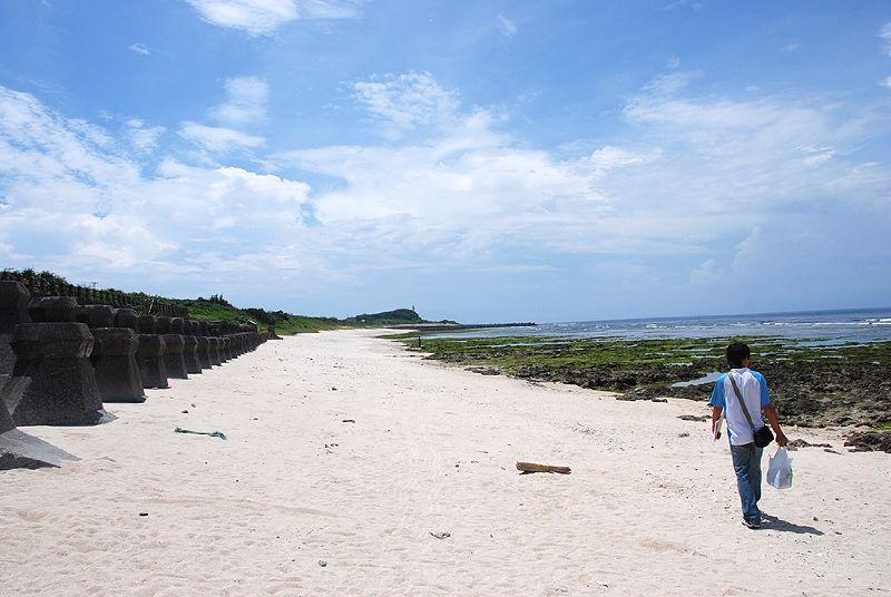 柴口→燈塔的海灘+海蝕平台