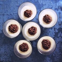 White and Dark Chocolate Mousse