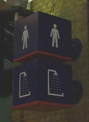 Dalek toilets (Richard and Gill) Tags: london station train rail railway toilet wc doctorwho drwho dalek tardis kingscross kingscrossstation publictoilet britishrail davros gents daleks gentlemens railtrack nationalrail kingscrossstpancras skaro