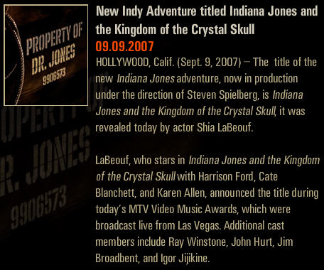 shia labeouf says Indys title