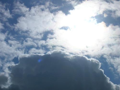 late-summer sky