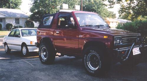 Daihatsu Rocky 1992. 1991 Daihatsu Rocky 4x4 amp; 1992