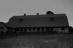 The barn acknowledges its vulnerability with a softness of pride...it has had its time in the sun. (road_less_trvled) Tags: blackandwhite bw abandoned empty barns pa farms discarded forsaken desolate sheds berkscounty anotheronebitesthedust daarksword roadlesstrvled
