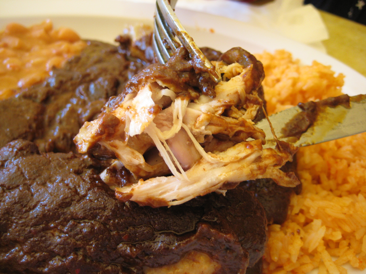 Chicken With Mole