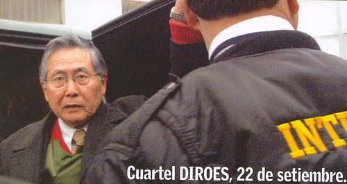 Fujimori extraditado