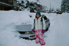 Today's walk to school (Derek K. Miller) Tags: morning school snow