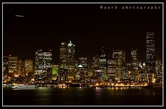 Seattle Skyline (Amar Ramesh Photography) Tags: seattle skyline king nightshoot canon70300mm admiralway