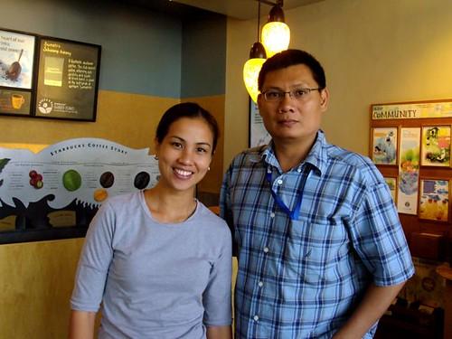 With Jaymie Pizarro