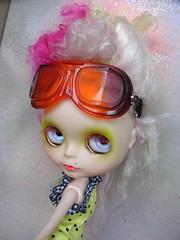 Future Lovers Goggles - 'Grape Tangerine'
