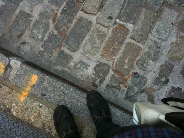 back in soho #walkingtoworktoday
