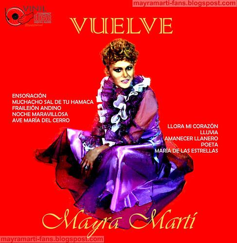 Mayra Martí Back Vuelve 1981