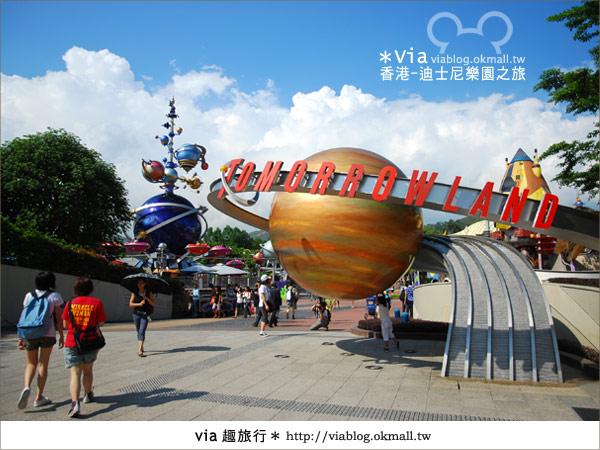 【香港自由行】跟著via玩香港(1)~爆走香港迪士尼樂園21