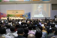 聯合國CBD會議,潘紀揚攝。