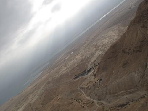 Dead Sea skyline from Masada