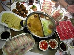 Hot pot (MelindaChan ^..^) Tags: china food restaurant yum mel eat meal melinda macau hotpot chanmelmel