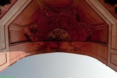 Fatehpur-Sikri #3 (Roy Prasad) Tags: california leica travel vacation india holiday art tourism architecture nikon fort bees tomb fatehpursikri agra palace mosque ceiling capitol empire 24mm nikkor sufi beehive akbar s2 fatehpur sikri f35 mughal pce summarit bulanddarwaza salimchishti d700 royprasad