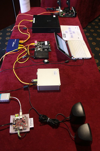 Yocto Project demo at Embedded Linux Conference - Europe