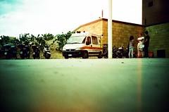 ... (icomewhenieatcaponata) Tags: camera italien people italy film analog 35mm toy lomo lca xpro lomography italia fuji cross forum centro toycamera commerciale ambulance iso 200 processing sicily palermo sicilia sensia   sizilien ratseyeview        ka     peppopeppo  puddicinu