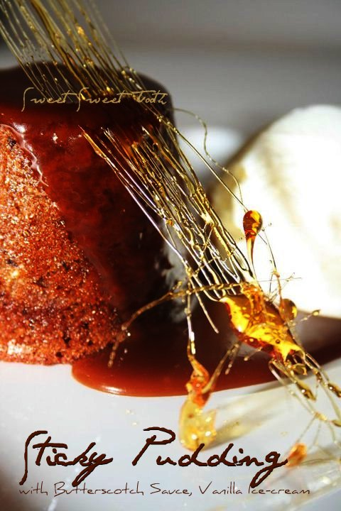 Sticky Pudding With Sweet Sweet Tooth