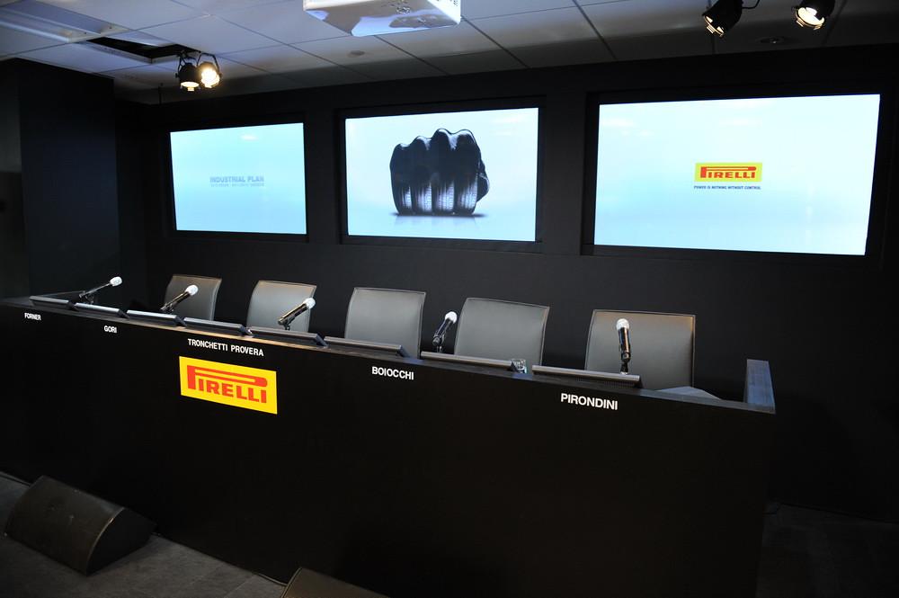 Pirelli New York showroom