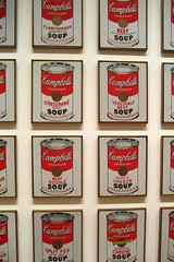 NYC - MoMA: Andy Warhol's Campbell's Soup Cans