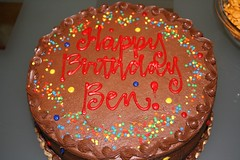 Ben's 30th Birthday (BenGuthrie) Tags: cake ben bestof2007