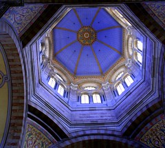 Marseille Cathedral Ceiling - by papalars