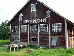 Mopedmuseet i Björkenäs