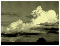 Stormy weather (Kirsten M Lentoft) Tags: sky bw cloud storm rain topc25 cumulus rightplacerighttime helluva blueribbonwinner splendiferous flickrsbest abigfave outstandingshot anawesomeshot impressedbeauty momse2600 kirstenmlentoft