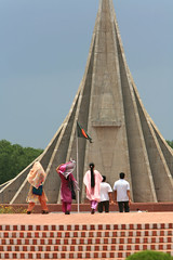 Savar Monument, Bangladesh (David A Mckee) Tags: monument river death graves national dhaka martyrs independance bangladesh bazar banks savar bangsi reverencebamgladeshasoapovertypeoplefoodpoorhelpstarvationbeghomelessricefoodabandonedalmsasiaasianbanglesbarrenbegbeggarbeggingchil