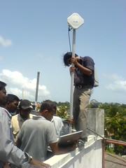 WiMAX Antenna installation