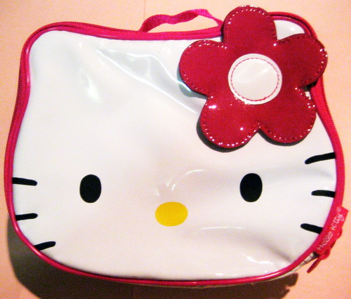 HELLO KiTTY HEAD LUNCH BOX