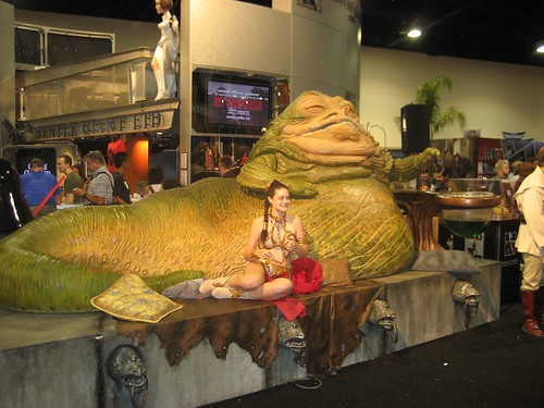 Slave Girl & Jabba The Hut