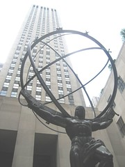 atlas at the rockefeller centre (Clare Alana Smith) Tags: newyork rock atlas rockefellercentre rockefeller