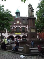 Müllheim-Besuch - Rathausplatz