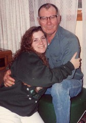 Leslie and her grandpa not so long ago