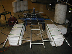 The boat framework