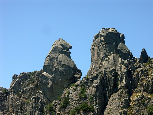 Le sommet double de la Punta Furcuta