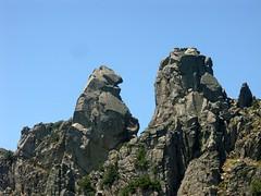 Entre Arghjetu et Morellu: Punta Furcuta près du col de Morellu