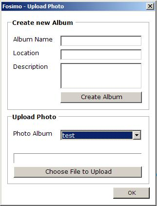 Facebook Upload Photos